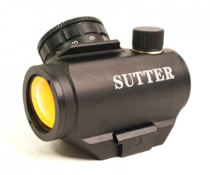 Коллиматорный прицел Sutter J25 закрытый на Weaver (BH-KST04)