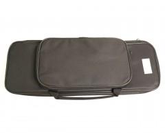 Чехол-футляр оружейный «Люкс» 65 см, черный, с карманами (BGL65)