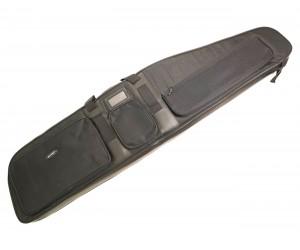 Чехол оружейный с игольч. поролоном 120x30 см, черный комбинир., 3 кармана (BGS120)