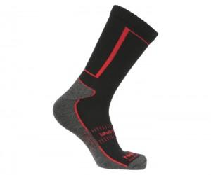 Термоноски NordKapp 977 (черный/красный)