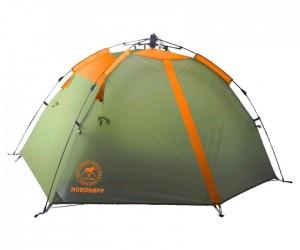Палатка-автомат AVI-Outdoor Vuokka 2 orange, 210x130x105 см, 2-местная (5912)