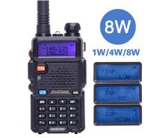 Рация Baofeng UV-5R 8W, 3 режима мощности