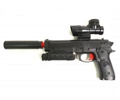 Пистолет бластер AngryBall M92 (Beretta) Black