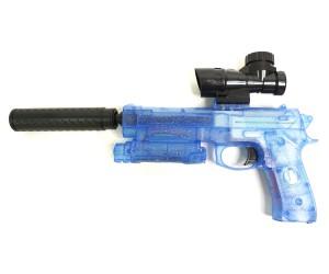 Пистолет бластер AngryBall M92 (Beretta) Blue