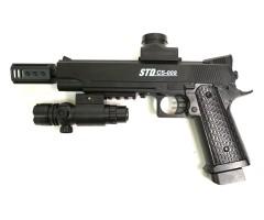 Пистолет бластер AngryBall 1911 (CS-009) Colt
