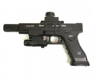 Пистолет бластер AngryBall 777 (Glock)