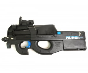 Пистолет-пулемет бластер AngryBall Runqi P90 Black