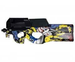 Пистолет-пулемет бластер AngryBall Runqi P90 Graffity