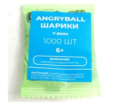 Шарики гелевые AngryBall синие 7-8 мм (1000 штук)