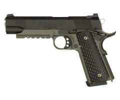 Страйкбольный пистолет Tokyo Marui Colt M1911A1 Night Warrior GBB