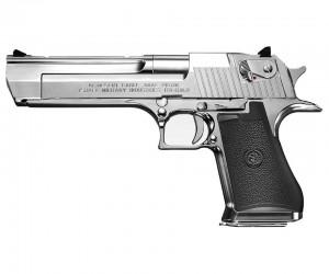 Страйкбольный пистолет Tokyo Marui Desert Eagle .50AE Chrome GBB