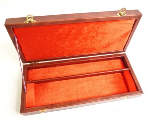 Подарочный кейс-футляр для штык-ножа (натур. кожа)