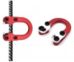 Петля стальная Centershot (красная)