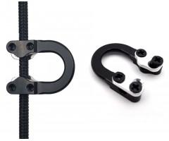 Петля стальная Centershot (черная)