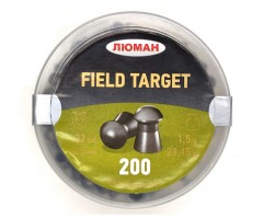 Пули «Люман» Field Target 5,5 мм, 1,5 г (200 штук)