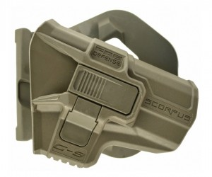 Кобура с кнопкой Fab Defense M24 Paddle G-9 R для Glock 9 мм (хаки)