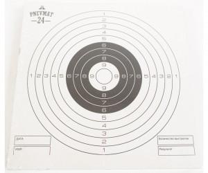 Мишени для пневматики P24 белые, 140x140 мм (50 штук)