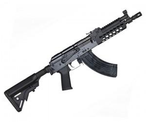 Страйкбольный автомат E&L AK702 Custom, сталь (EL-A114-B)