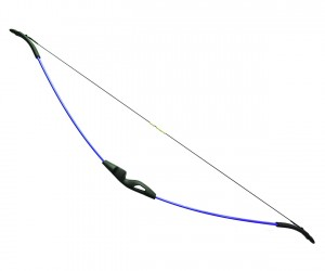 Детский классический лук Centershot Ace 9 кг, 134 см (синий)