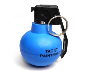 Граната учебная пейнтбольная TAG-67 (краска)