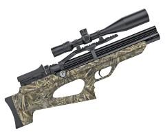 Пневматическая винтовка Aselkon MX-10S Camo Max-5, L=450 (PCP, 3 Дж) 6,35 мм