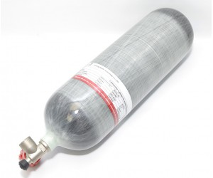 Баллон высокого давления Alsafe 9,0 л (с манометром, боковой вентиль)