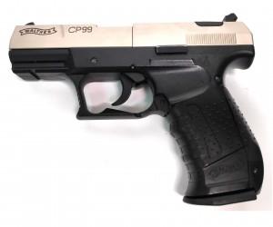 |Уценка| Пневматический пистолет Umarex Walther CP99 Nickel (№ 412.00.01-126-уц)
