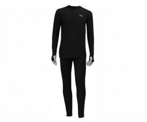 Термобелье мужское Ahma Outwear Villafrotte Miesten (2-й слой, черный)