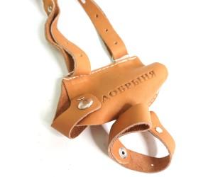 Кобура оперативная для «Добрыня» (нат. кожа-юфть) коричневая