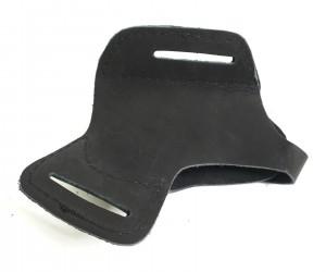 Кобура-бабочка поясная для «Пионер/Добрыня» (нат. кожа) черная