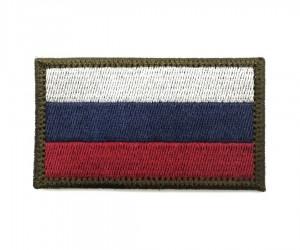 Шеврон Флаг Триколор защитный 40x60