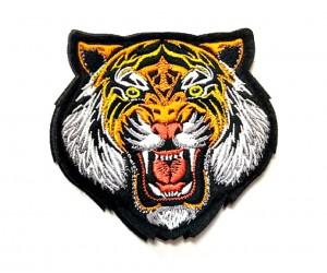 Шеврон Тигр оскал