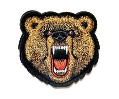 Шеврон Медведь оскал