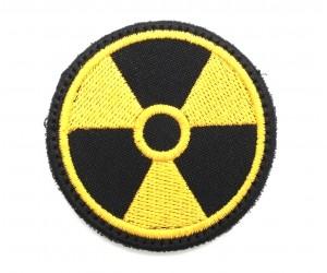 Шеврон Радиация 85 мм