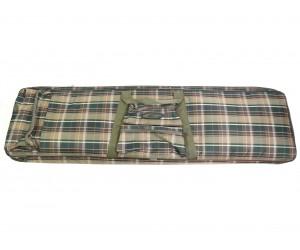Чехол оружейный «Шотландка» 1150x300 мм (сетка карман)