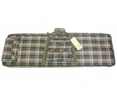 Чехол оружейный «Шотландка» 1150x350 мм (поролон) сетка