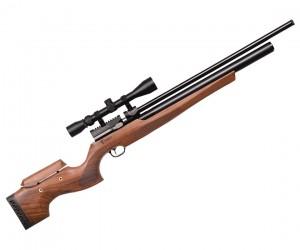 Пневматическая винтовка Kuzey K60 / K600 (орех, PCP, 3 Дж) 5,5 мм