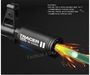 Трассерная насадка Spitfire Tracer Lighter S 14-/10+