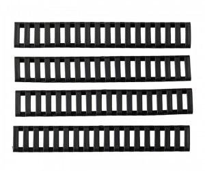 Резиновые накладки на цевье Big Dragon Ladder Rail Cover BK, 4 шт. (BD4153)
