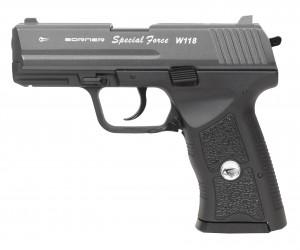 Пневматический пистолет Borner Special Force W118 (HK)