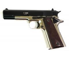 Охолощенный СХП пистолет 1911-СО Kurs (Colt) 10x24, хром/черный