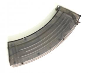 Лоадер большой в виде магазина АК, прозрачный серый (AS-TL0057B)