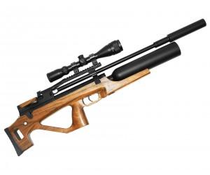 Пневматическая винтовка Jaeger SPR Булл-пап Колба (PCP, редуктор, ствол LW550, полигонал) 6,35 мм