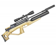 Пневматическая винтовка Jaeger SP Булл-пап Колба (PCP, прямоток, ствол LW550, полигонал) 6,35 мм