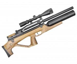 Пневматическая винтовка Jaeger SP Булл-пап Колба (PCP, прямоток, ствол LW470, чок) 6,35 мм