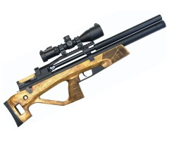 Пневматическая винтовка Jaeger SP Булл-пап (PCP, прямоток, ствол AP450, чок) 5,5 мм