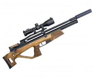 Пневматическая винтовка Jaeger SP Булл-пап (PCP, прямоток, ствол LW550, полигонал) 6,35 мм