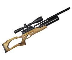 Пневматическая винтовка Jaeger SP Карабин Колба (PCP, прямоток, ствол LW470, чок) 6,35 мм