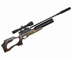Пневматическая винтовка Jaeger SP Карабин Колба (PCP, прямоток, ствол LW550, полигонал) 6,35 мм