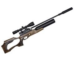 Пневматическая винтовка Jaeger SP Карабин Колба (PCP, прямоток, ствол AP550, полигонал) 6,35 мм